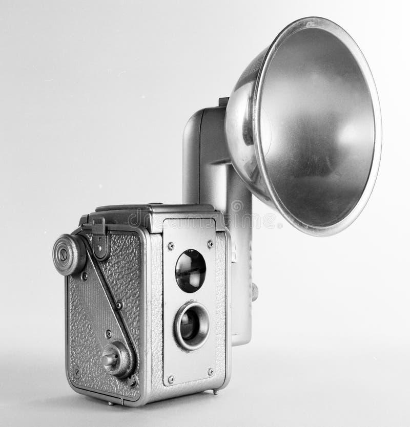 Câmera velha do instantâneo fotos de stock