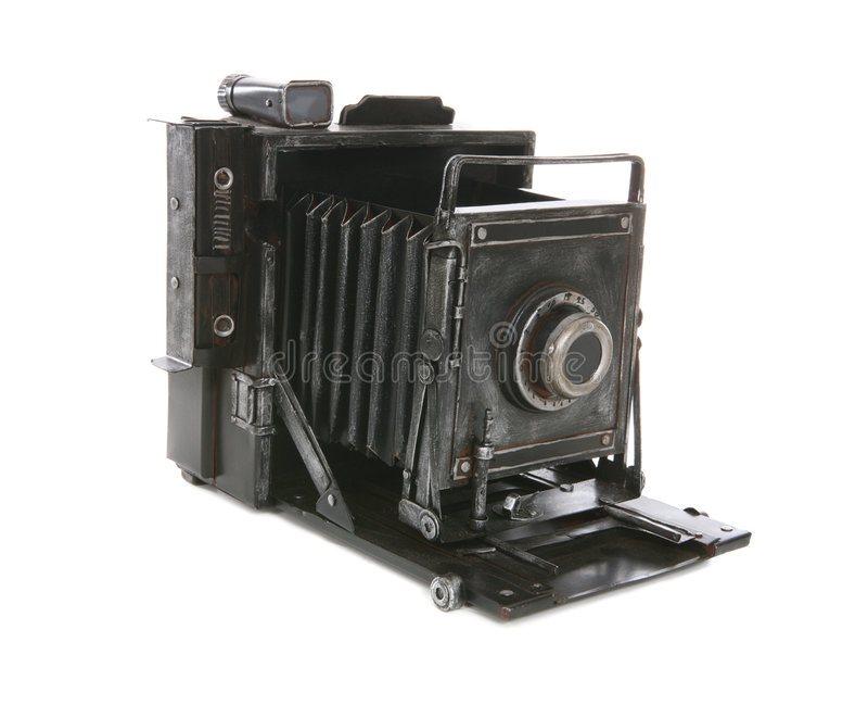 Câmera velha do vintage imagem de stock
