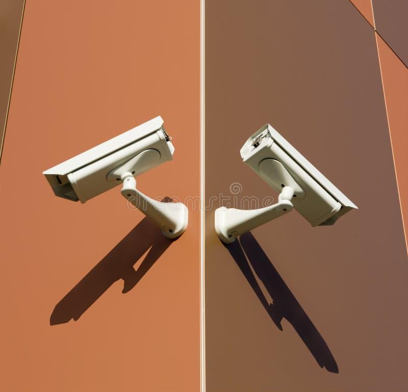 Câmeras de Brown imagem de stock