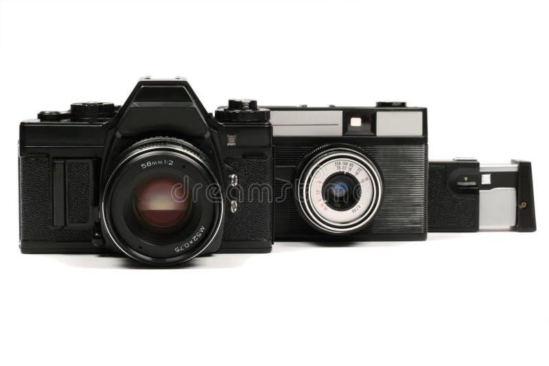 Câmeras soviéticas foto de stock royalty free