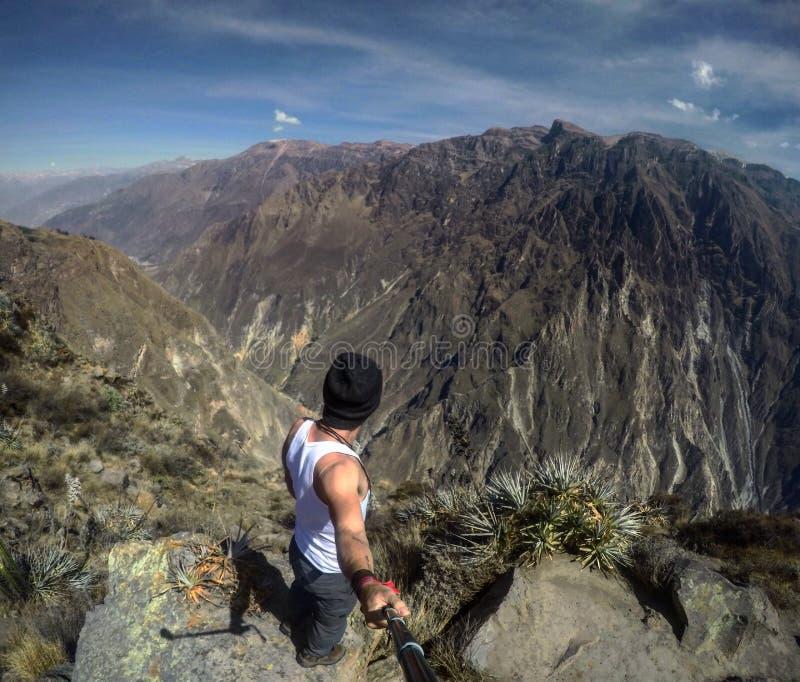 Cânions-colca Peru stockfotos