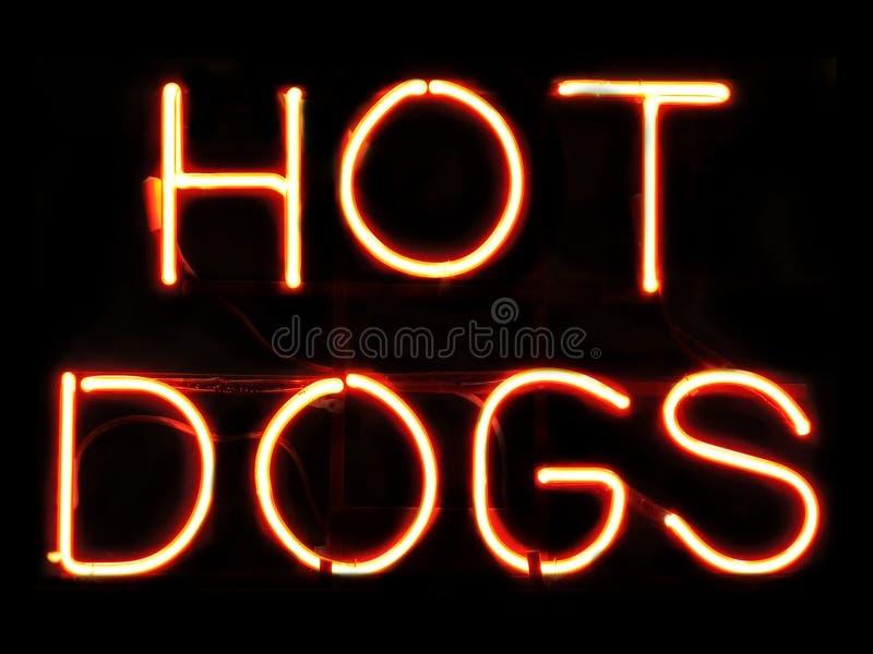 Cães quentes fotografia de stock royalty free