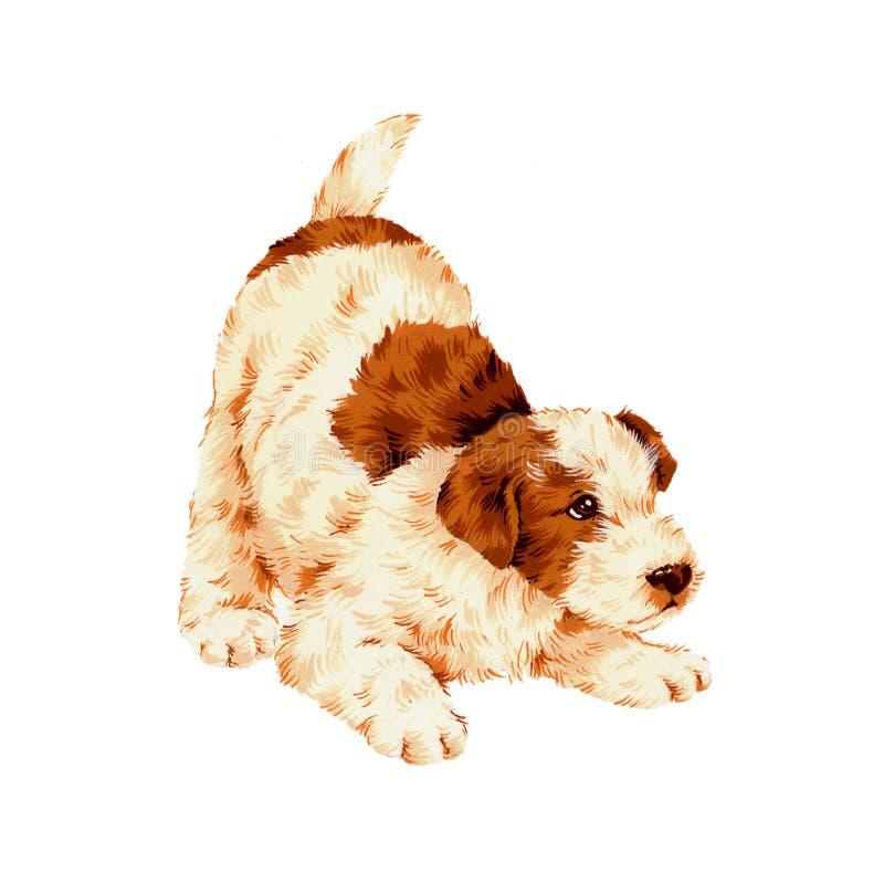 Cão bonito ilustração stock