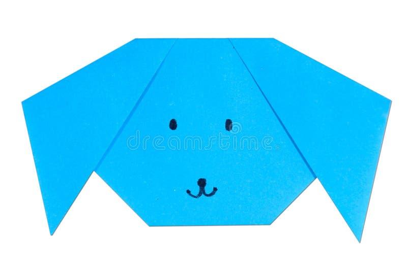 Cão de Origami imagens de stock royalty free