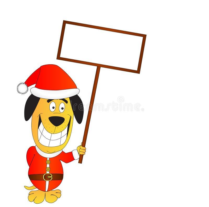 Download Cão de Santa ilustração do vetor. Ilustração de imagem - 16874717
