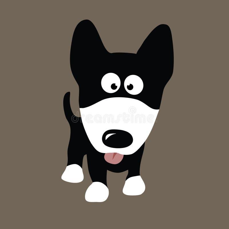 Cão do lobo ilustração royalty free