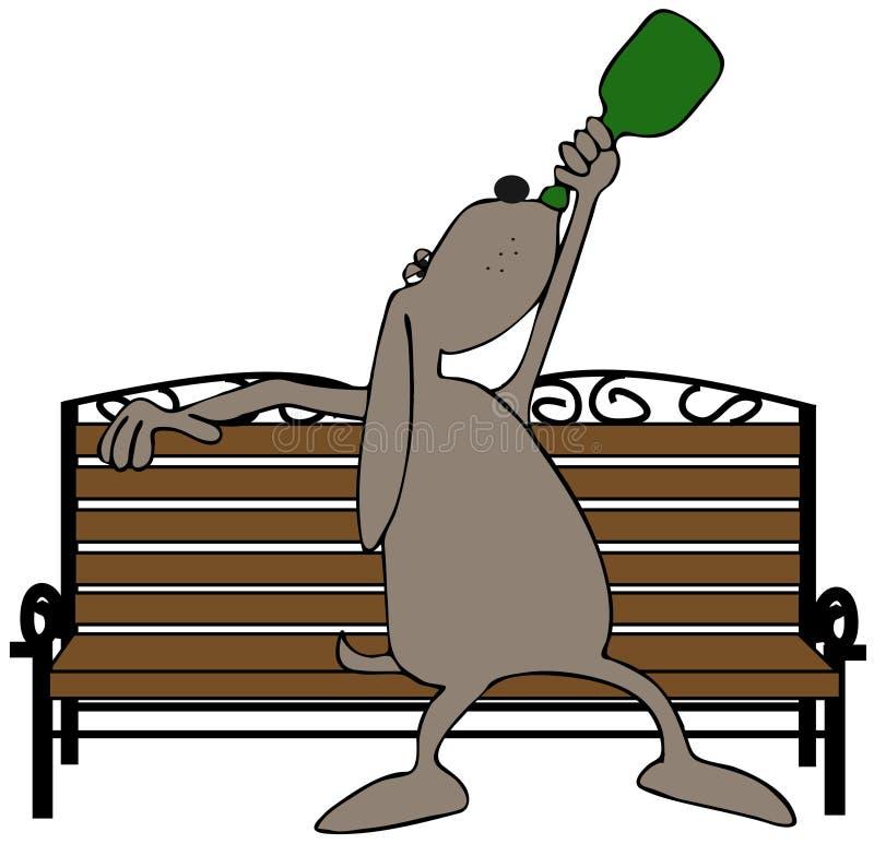 Cão do Wino ilustração do vetor