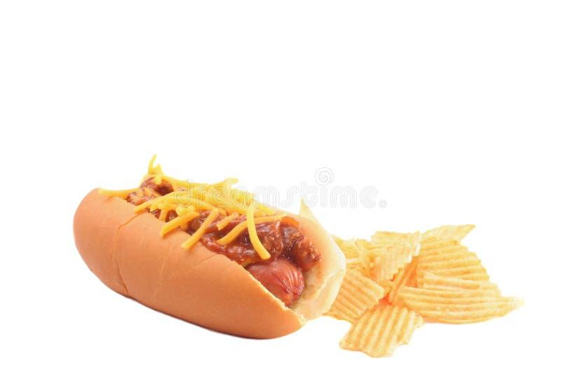 Cão quente imagem de stock
