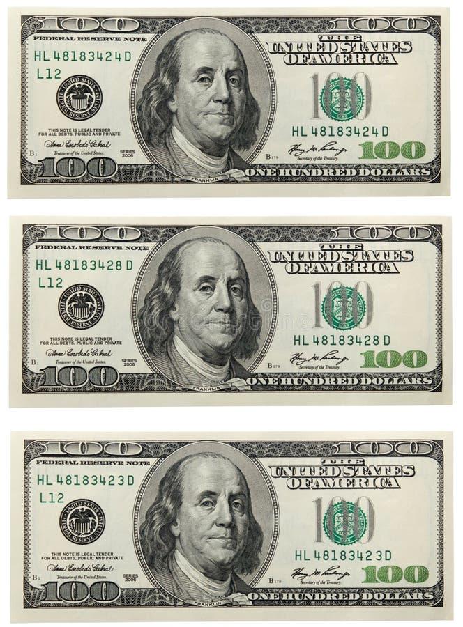 Cédula do dólar fotos de stock royalty free