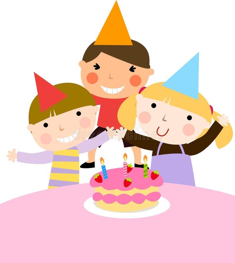 Célébration d'anniversaire illustration de vecteur
