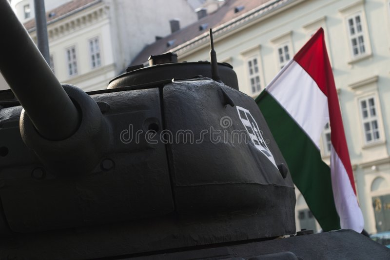 Célébration de 1956, Hongrie images stock