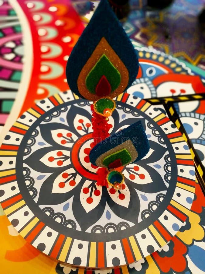 Célébration de Deepawali photographie stock