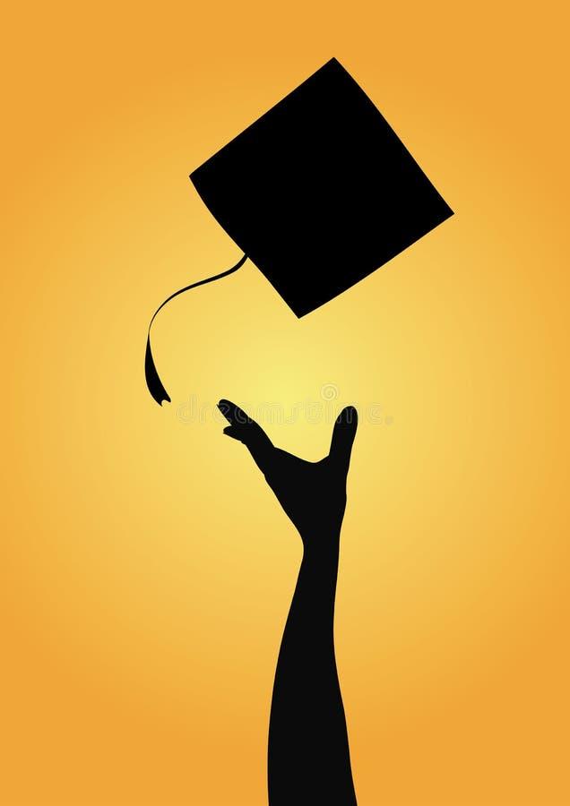 Célébration de graduation illustration stock