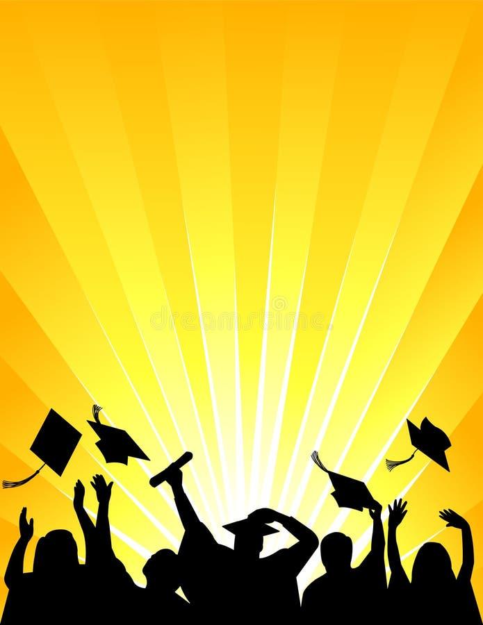 Célébration de graduation/ENV illustration de vecteur