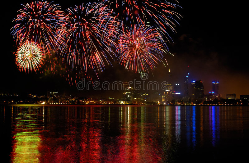 Célébration de jour de l'Australie photo stock