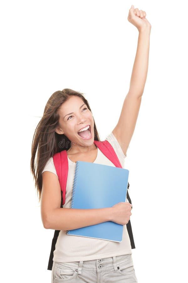 Célébration de l'étudiant photo stock