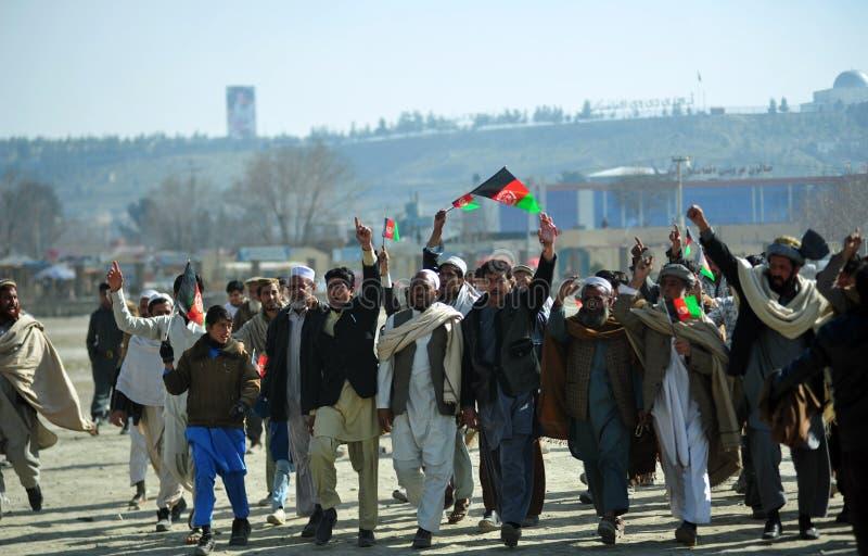 Célébration de l'indépendance de l'Afghanistan images libres de droits