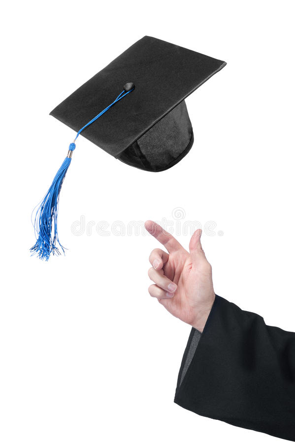 Célébration de la graduation image stock