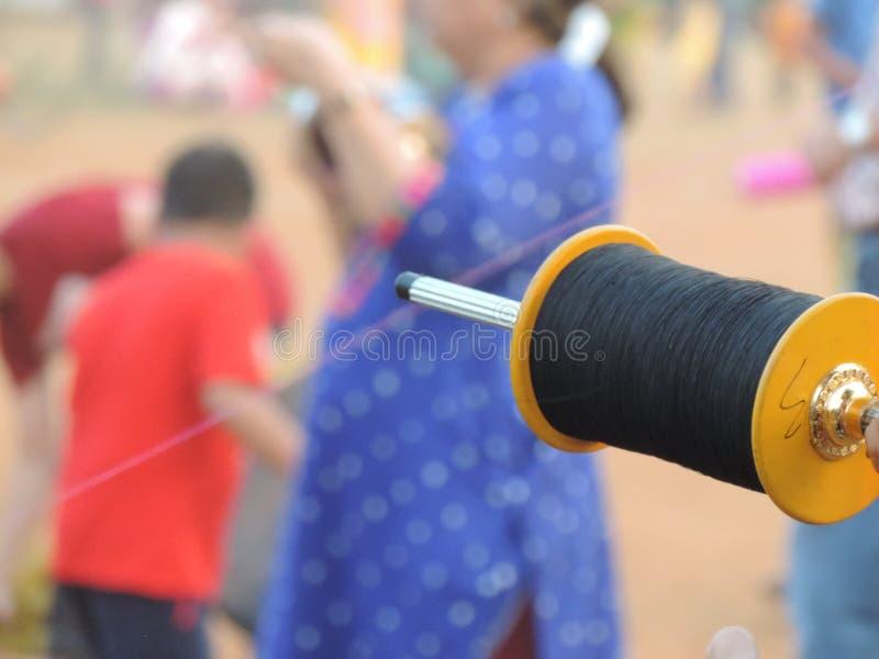 Célébration de Makar Sankrant, Mumbai, Inde image stock