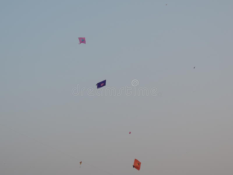 Célébration de Makar Sankrant, Mumbai, Inde image libre de droits