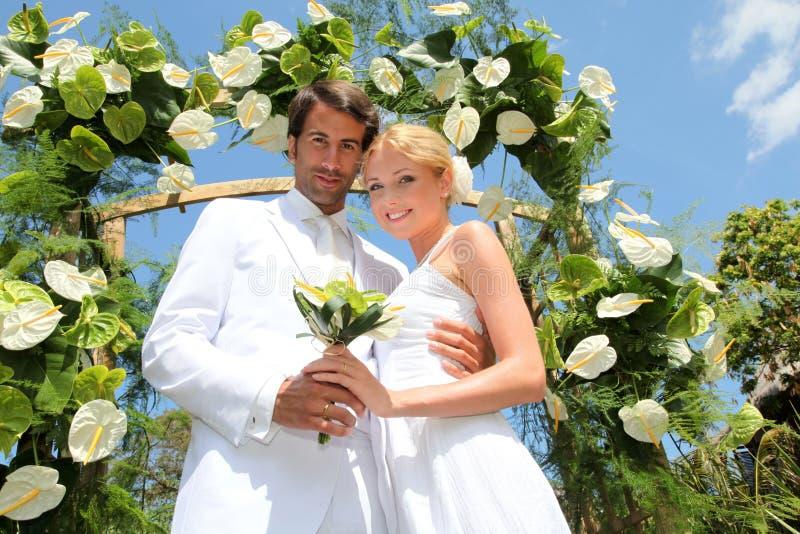 Célébration de mariage images stock