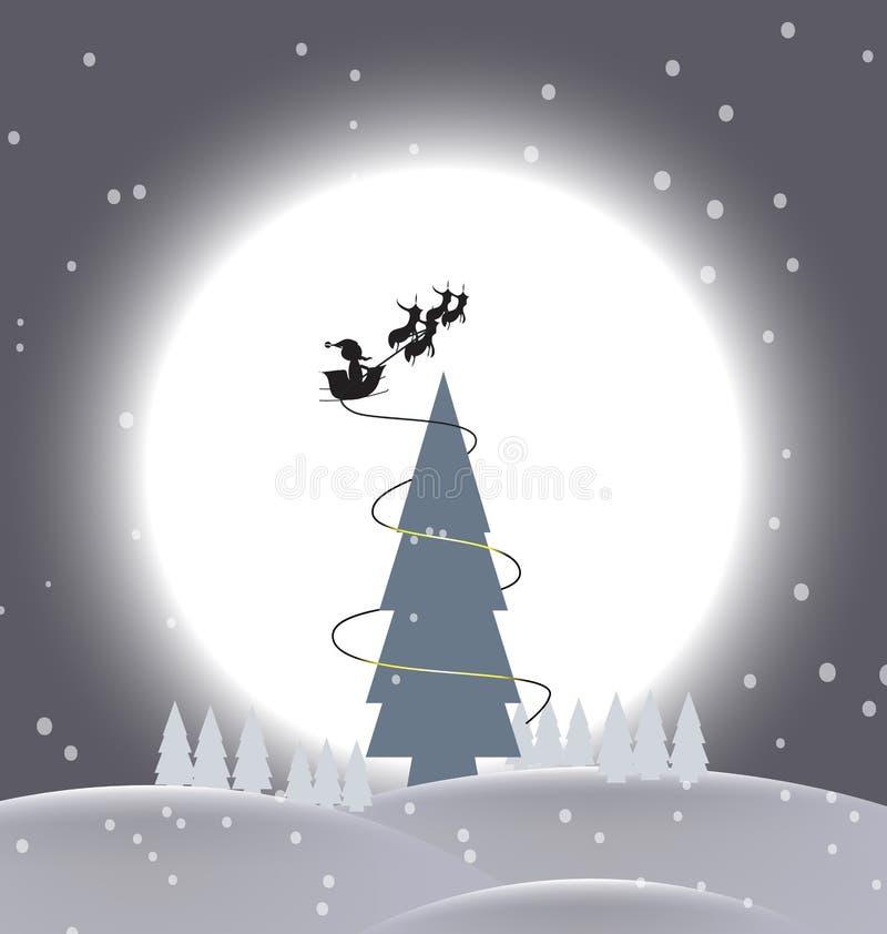 Célébration de Noël de fond photo stock