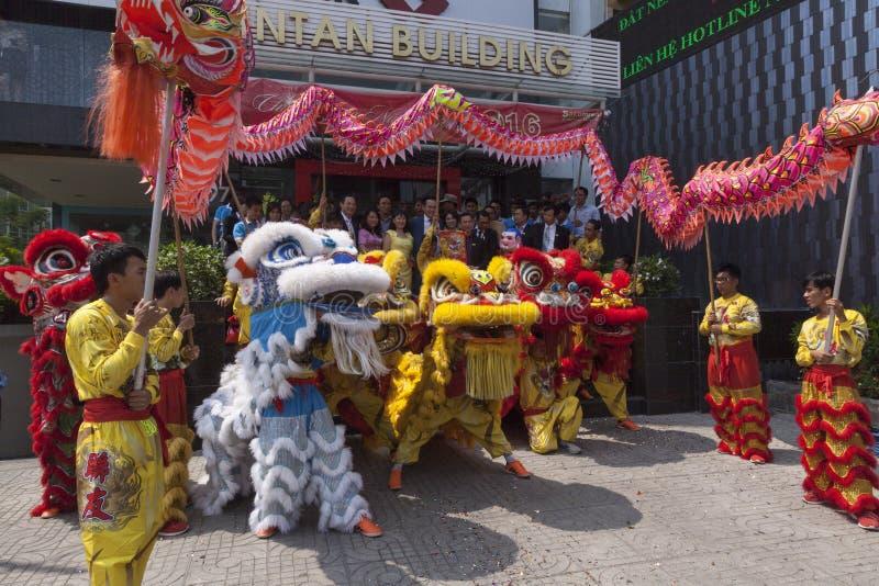 Célébration de Tet en Ho Chi Minh image stock