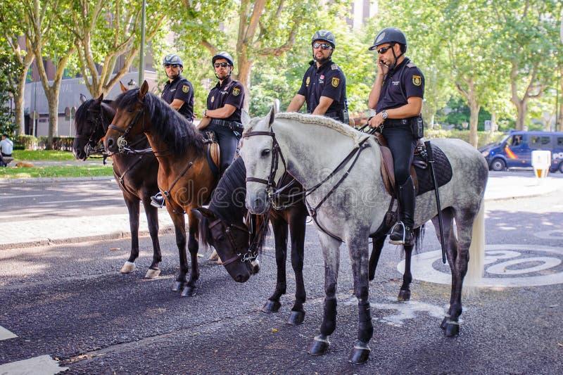 Célébration du couronnement du nouveau roi de l'Espagne Felipe IV image libre de droits