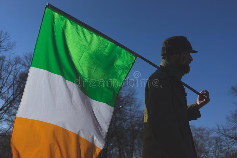 Célébration du jour de St Patrick photo stock