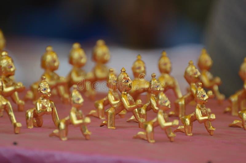Célébration JANMASHTAMI de Lord Krishna photos libres de droits