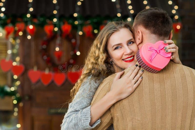 Célébration le jour du ` s de valentine image libre de droits