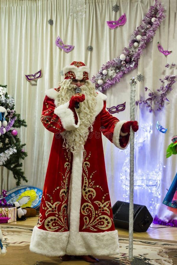 Célébration, Noël, heureux, vacances, homme, Santa, Noël, Claus, costume, photos stock