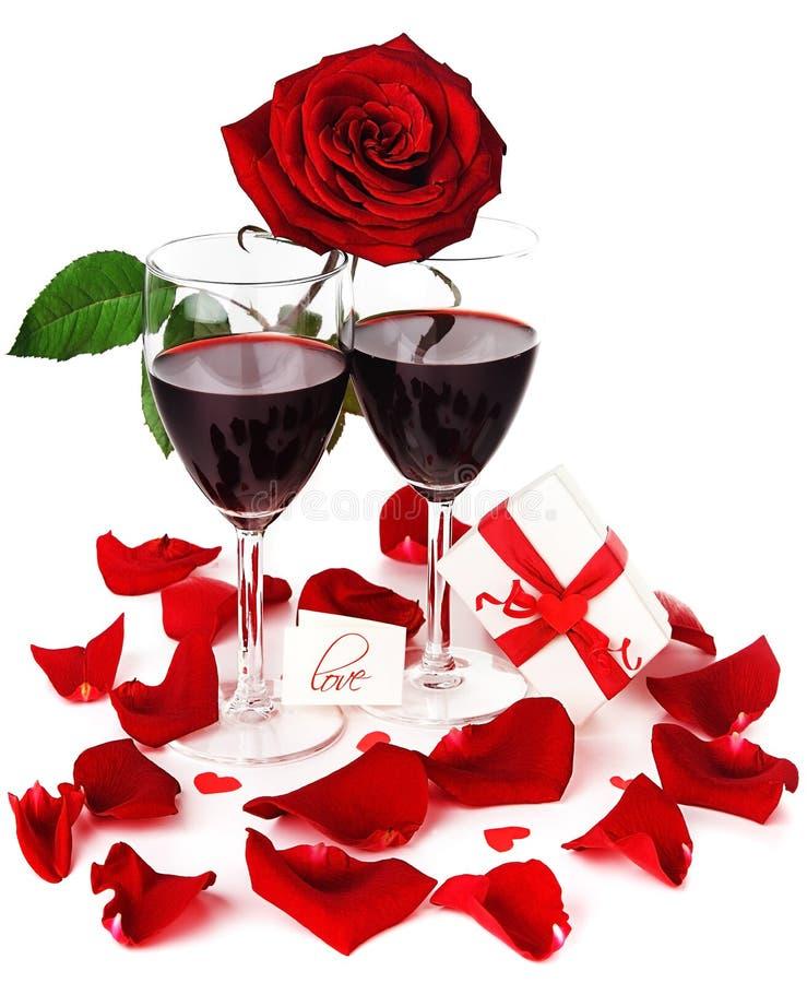 Célébration romantique de vacances photos stock