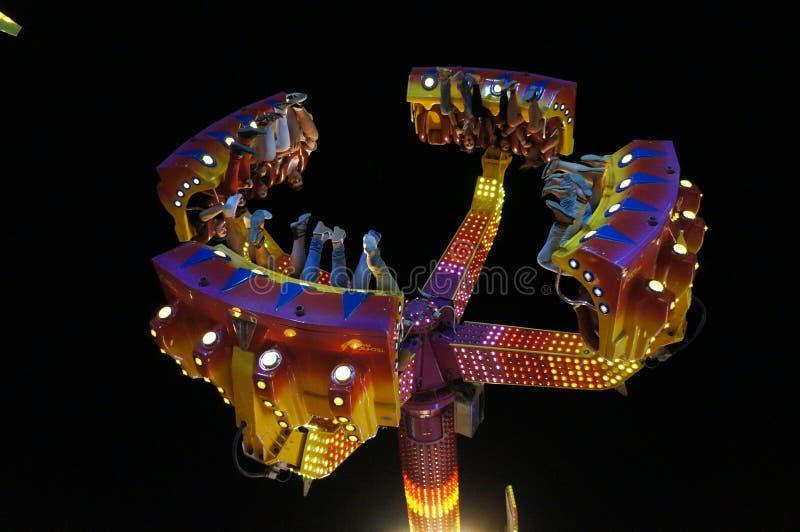 Célébrations de parc d'attractions image stock