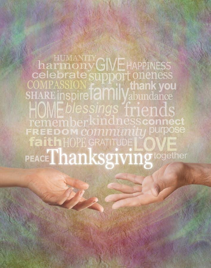 Célébrez le thanksgiving ensemble images stock