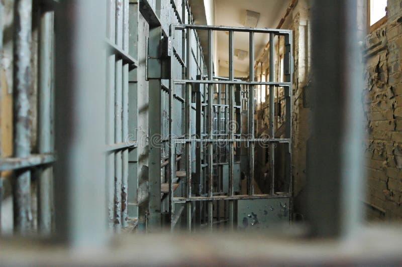 Célula de cárcel foto de archivo libre de regalías