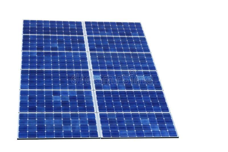 Célula solar da potência de Sun fotos de stock
