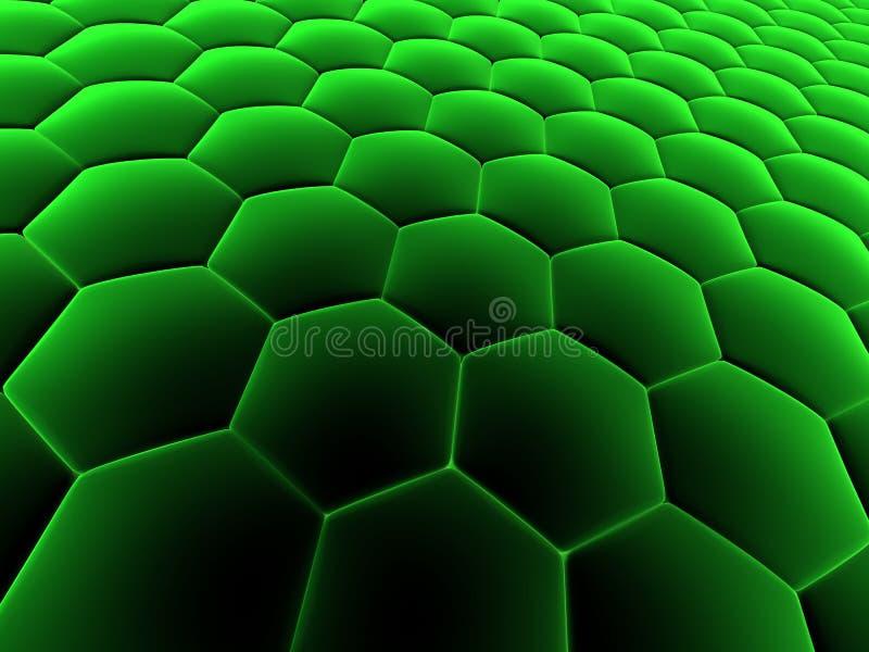 Células abstractas stock de ilustración