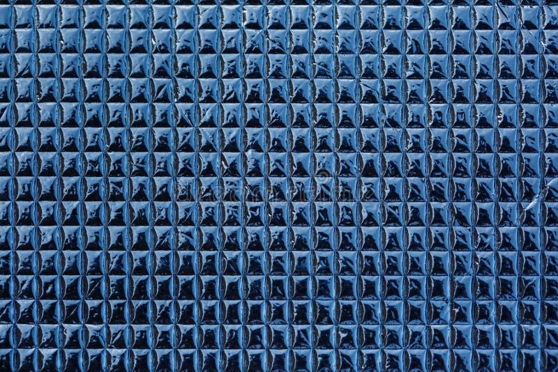 Células del metal, cromo gris del ornamento rectangular foto de archivo libre de regalías