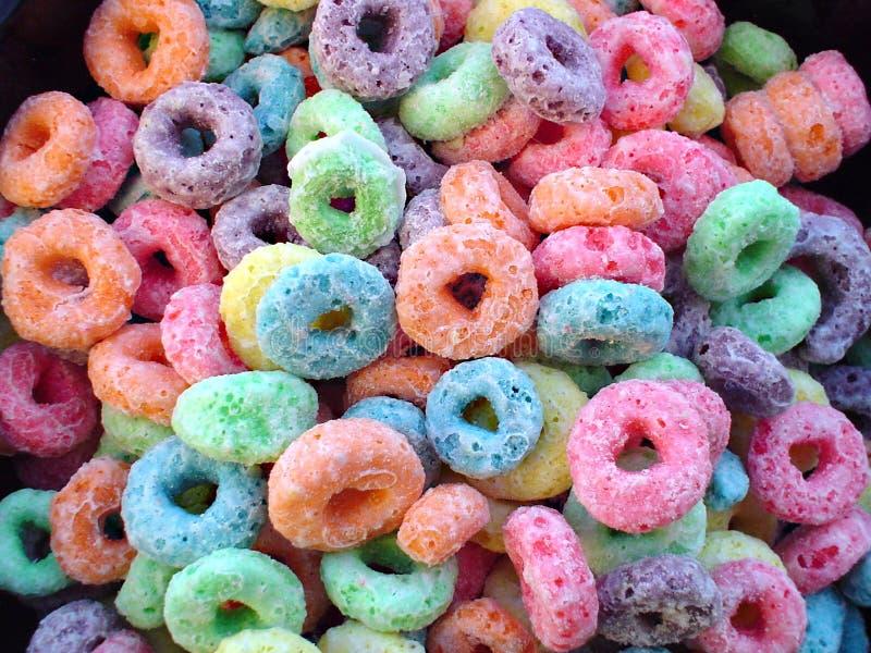 Download Céréale photo stock. Image du fruit, sugarcoated, sucré - 63994