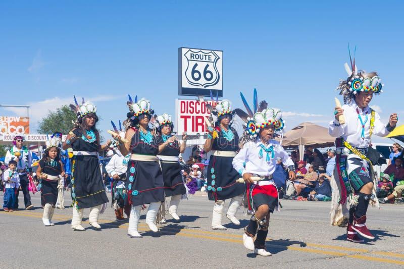 Cérémonial indien de tribus de Gallup images stock