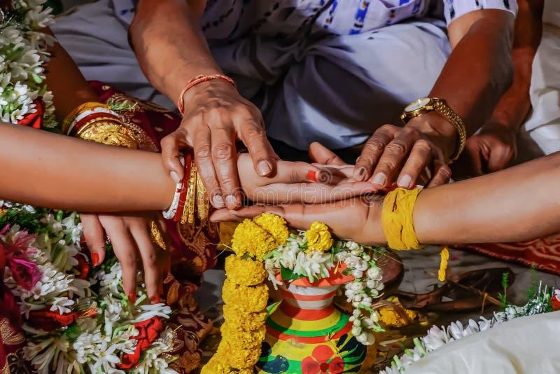 Cérémonie de mariage photo libre de droits