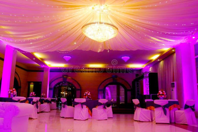 Cérémonie de mariage de décoration d'Inde photo libre de droits
