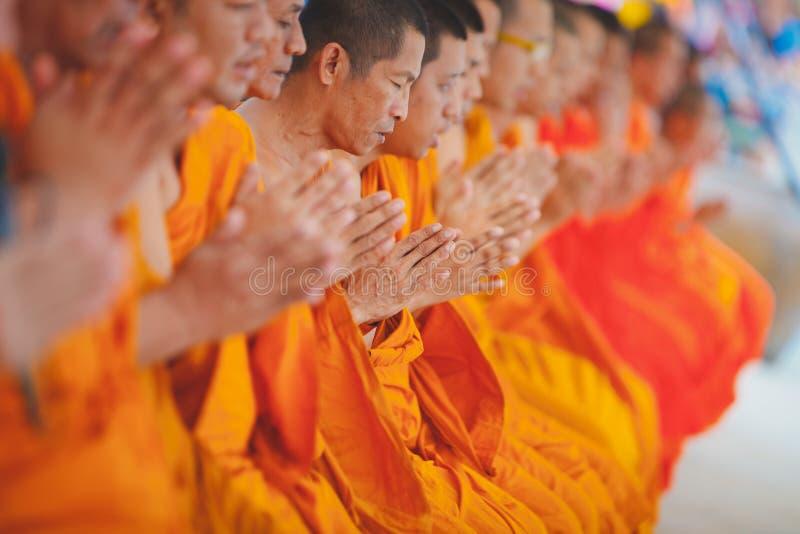 Cérémonie de Songkran photo stock