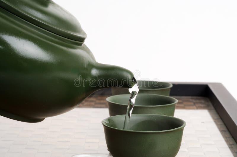 Cérémonie de thé japonaise chinoise photographie stock