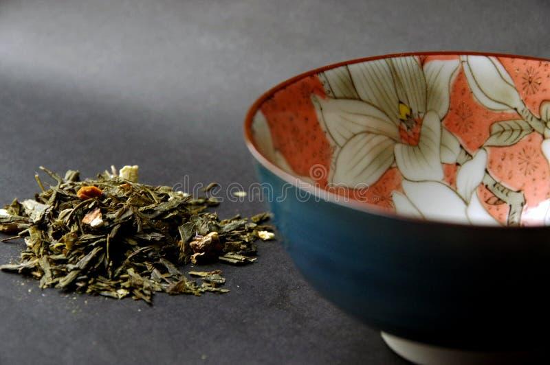 Cérémonie de thé vert japonaise photographie stock libre de droits