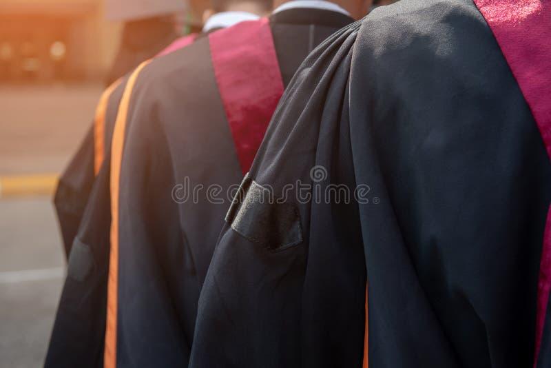 Cérémonie des diplômés de l'université images libres de droits