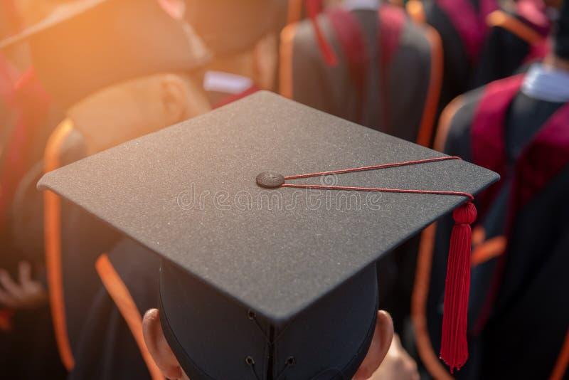 Cérémonie des diplômés de l'université photo libre de droits