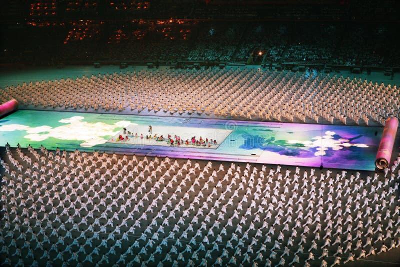 Cérémonie olympique photographie stock