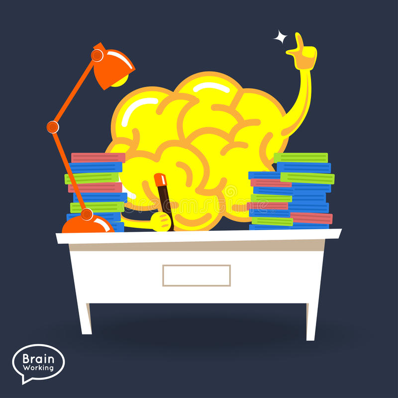 cérebros ilustração stock